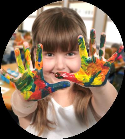 children-painting